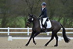 Class 1. British dressage. Brook Farm Training Centre. Essex. UK. 02/03/2019. ~ MANDATORY Credit Garry Bowden/Sportinpictures - NO UNAUTHORISED USE - 07837 394578