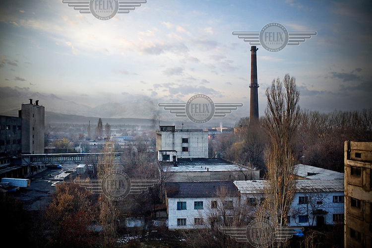 Factories in Bishkek.