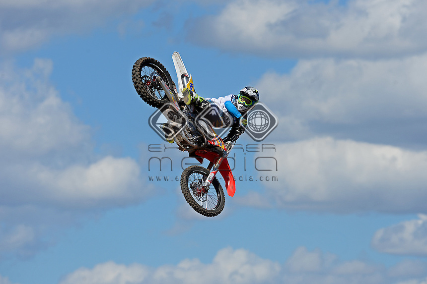Best Whip / Corey Creed (AUS) 3rd Place<br /> Australian FMX Grand Prix at the <br /> Australian F1 GP / Albert Park<br /> March 17th - 20th 2016<br /> &copy; Sport the library / Jeff Crow