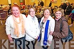 Dora Counihan, Kay O'Shea, Maureen Maher and Ann Hubbert, Rock St. and Ballymullen post office at the public meeting of a national campaign to get local services maintained in rural  post offices held at the Carlton Hotel on Tuesday