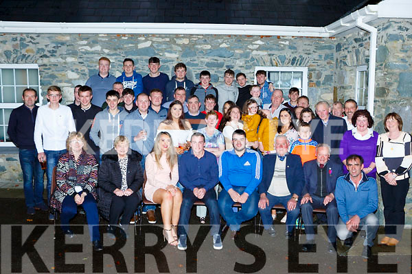 Eoghan Mahony Rossanean Currow celebrated his 18th birthday with his family and friends at his home on Saturday night