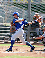 Josh Vitters / Chicago Cubs 2008 Instructional League..Photo by:  Bill Mitchell/Four Seam Images