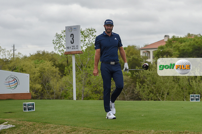 Dustin Johnson (USA) heads down 3 during day 3 of the WGC Dell Match Play, at the Austin Country Club, Austin, Texas, USA. 3/29/2019.<br /> Picture: Golffile | Ken Murray<br /> <br /> <br /> All photo usage must carry mandatory copyright credit (© Golffile | Ken Murray)