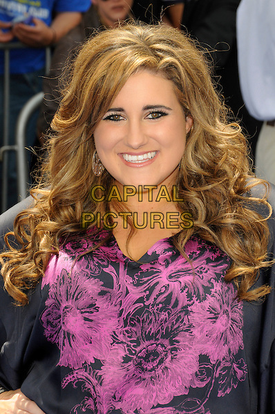 """KAYCEE STROH.Arrivals - Disneynature's Premiere Of """"Oceans"""" held At El Caitan Theatre, Hollywood, California, USA..17th April 2010.half length black pink top print .CAP/ROT.©Lee Roth/Capital Pictures"""