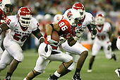 January 5th, 2008:  Ball State receiver Dante Love (86) avoids defenders during the third quarter of the International Bowl at the Rogers Centre in Toronto, Ontario Canada...Rutgers defeated Ball State 52-30.  ..Photo By:  Mike Janes Photography