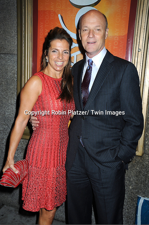 Phil Griffin and wife Cory attends The Today Show's 60th Anniversary celebration party on January 12, 2012 at The Edison Ballroom in New York City.