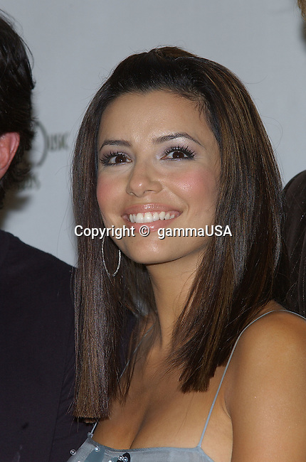 Eva Longoria backstage at the 32th Annual American Music Awards at the Shrine Auditorium in Los Angeles. November 14, 2004.