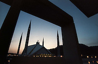 Faisal Mosque in Islamabad, Pakistan - 1996