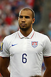 13 July 2015: John Brooks (USA). The United States Men's National Team played the Panama Men's National Team at Sporting Park in Kansas City, Kansas in a 2015 CONCACAF Gold Cup Group A match.