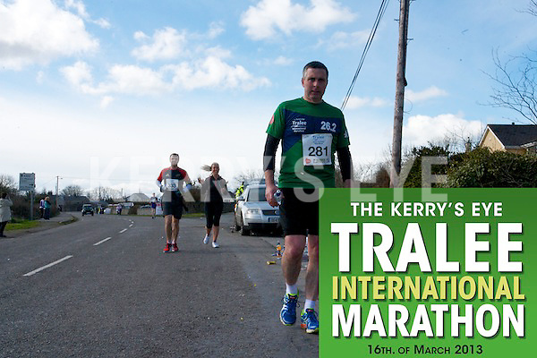 0281 Mike Hurley  who took part in the Kerry's Eye, Tralee International Marathon on Saturday March 16th 2013.