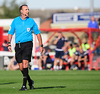Referee Carl Boyeson<br /> <br /> Photographer Chris Vaughan/CameraSport<br /> <br /> The EFL Sky Bet League One - Lincoln City v Bristol Rovers - Saturday 14th September 2019 - Sincil Bank - Lincoln<br /> <br /> World Copyright © 2019 CameraSport. All rights reserved. 43 Linden Ave. Countesthorpe. Leicester. England. LE8 5PG - Tel: +44 (0) 116 277 4147 - admin@camerasport.com - www.camerasport.com