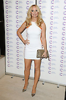 Liz McClarnon arriving at James' Jog On To Cancer Event, Kensington Roof Gardens, London. 09/04/2014 Picture by: Alexandra Glen / Featureflash