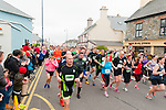 Ballybunion Half Marathon & 10k run start.