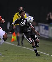 DC United forward Thabiso Khumalo (17)  Chivas USA defeated DC United 2-0  at RFK Stadium, Saturday October 3, 2009.
