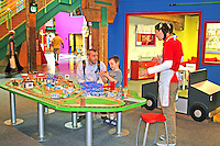 People at Louisiana Childrens Museum New Orleans Louisiana