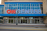 The Atlanta headquarters of CNN