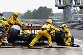 Ryan Hunter-Reay, Andretti Autosport Honda, pit stop