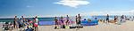 Hel (woj. pomorskie) 20.07.2016 Cypel Helski - plaża.