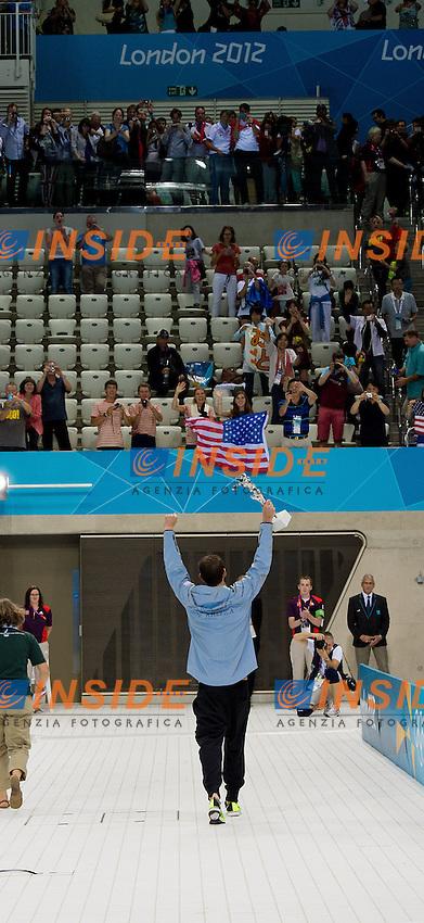 Michael Phelps USA .4x100 medley relay.Swimming Finals.London 2012 Olympics - Olimpiadi Londra 2012.day 09 Aug.4.Photo G.Scala/Deepbluemedia.eu/Insidefoto