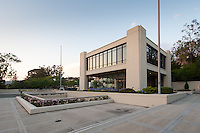 Arthur G. Coons Administration Building (AGC) on June 12, 2015.<br /> (Photo by Marc Campos, Occidental College Photographer)