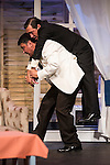 """Jose Luis Gago and Alex Cueva at """"Usted puede ser un asesino"""" Theater play in Muñoz Seca Theater, Madrid, Spain, September 07, 2015. <br /> (ALTERPHOTOS/BorjaB.Hojas)"""