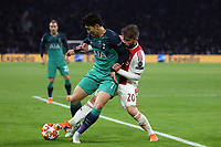 Lasse Schone of Ajax and Son Heung-Min of Tottenham Hotspur during AFC Ajax vs Tottenham Hotspur, UEFA Champions League Football at the Johan Cruyff Arena on 8th May 2019