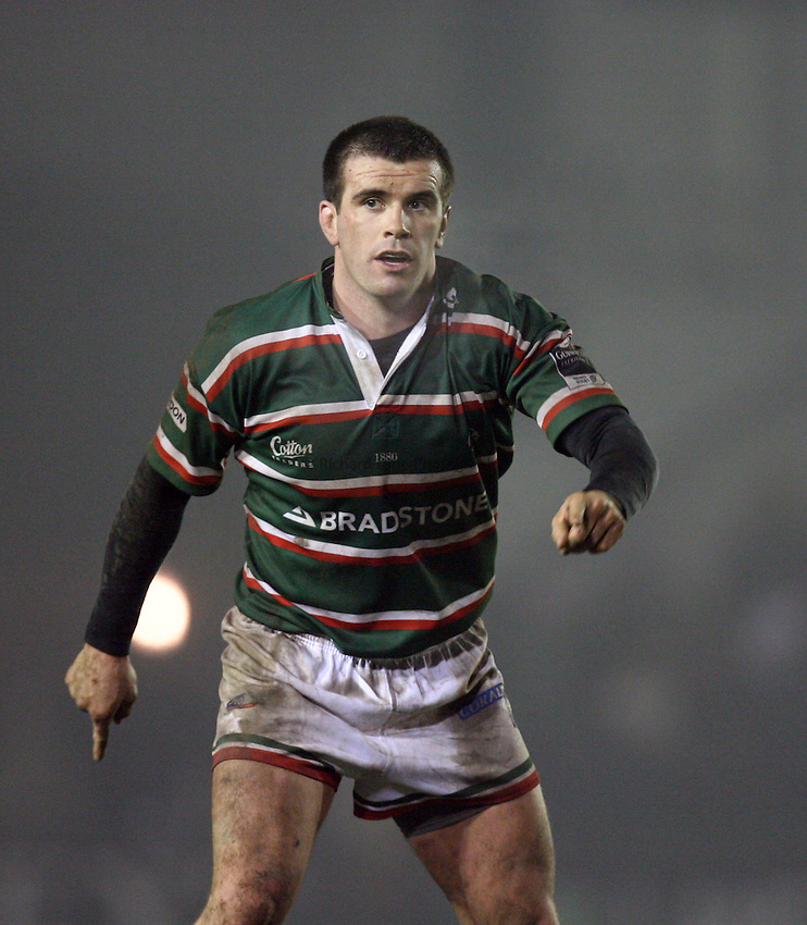 Photo: Rich Eaton...Leicester Tigers v Bristol Rugby. Guinness Premiership. 22/12/2006. Shane Jennings of Leicester.