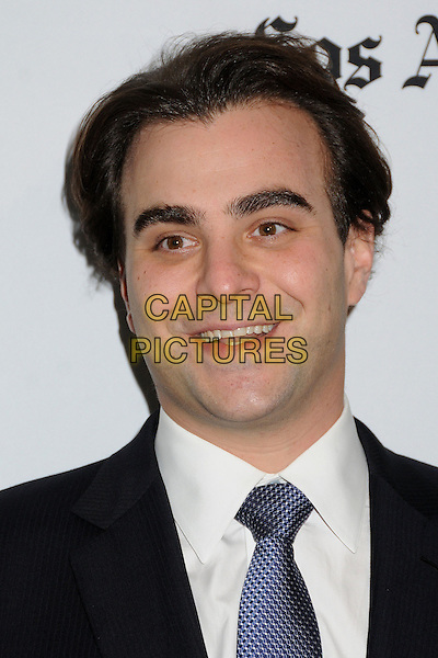 Nicholas Jarecki.16th Annual Hollywood Film Awards Gala held at the Beverly Hilton Hotel, Beverly Hills, California, USA..October 22nd, 2012.headshot portrait blue black suit white shirt .CAP/ADM/BP.©Byron Purvis/AdMedia/Capital Pictures.