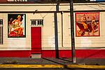 Classic Murals On Street