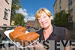 Elenor Collins who is demonstrating Irish brown bread baking in Germany..