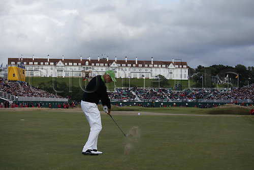 Stewart Cink plays towards final hole during fourth round Open Championship, Turnberry (Ailsa Course)Turnberry, Scotland,19th July 2009. Final day of the 138th Open Golf Championship at Ailsa Golf Course in Turnberry, Ayrshire, Scotland (Photo: Matt Harris/ActionPlus)