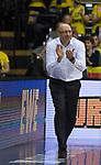 13.01.2019, EWE Arena, Oldenburg, GER, easy Credit-BBL, EWE Baskets Oldenburg vs Alba Berlin, im Bild<br /> los Jungs..<br /> Mladen DRJENCIC (EWE Baskets Oldenburg #Headcoach , #Coach , #Trainer )<br /> Foto © nordphoto / Rojahn