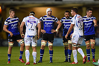 Dave Attwood of Bath Rugby looks on. Gallagher Premiership match, between Bath Rugby and Exeter Chiefs on October 5, 2018 at the Recreation Ground in Bath, England. Photo by: Patrick Khachfe / Onside Images
