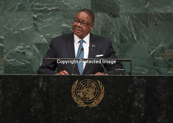 72 General Debate – 20 September <br /> <br /> by His Excellency Arthur Peter Mutharika, President of the Republic of Malawi