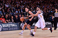 New Zealand Tall Blacks' Jarrod Kenny in action during the FIBA World Cup Basketball Qualifier - NZ Tall Blacks v Jordan at Horncastle Arena, Christchurch, New Zealand on Thursday 29 November  2018. <br /> Photo by Masanori Udagawa. <br /> www.photowellington.photoshelter.com