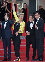 Noah Baumbach, Emma Thompson, Ben Stiller &amp; Adam Sandler at the premiere for &quot;The Meyerowitz Stories&quot; at the 70th Festival de Cannes, Cannes, France. 21 May  2017<br /> Picture: Paul Smith/Featureflash/SilverHub 0208 004 5359 sales@silverhubmedia.com