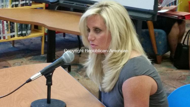 WATERBURY -- Carrington Elementary School Vice Principal Karen Renna was promoted to principal of the school Wednesday evening.