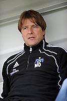 FUSSBALL   DFB POKAL   SAISON 2011/2012  1. Hauptrunde VfB Oldenburg - Hamburger SV                             30.07.2011 Trainer Michael OENNING (Hamburger SV)