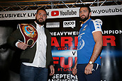 2017 WBO heavyweight boxing Parker v Fury Press Conference Sep 18th