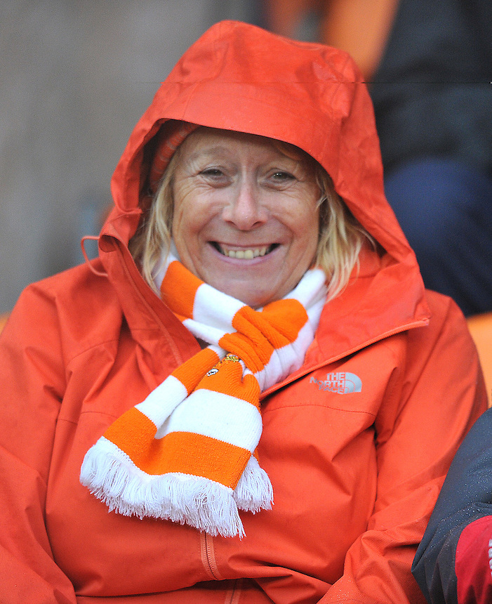 Fans<br /> <br /> Photographer Bethany Hankey/CameraSport<br /> <br /> Football - The Football League Sky Bet League One - Blackpool v Doncaster Rovers - Saturday 14th November 2015 -   Bloomfield Road - Blackpool<br /> <br /> &copy; CameraSport - 43 Linden Ave. Countesthorpe. Leicester. England. LE8 5PG - Tel: +44 (0) 116 277 4147 - admin@camerasport.com - www.camerasport.com