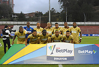 RIONEGRO - COLOMBIA, 24-01-2020:Jugadores del Rionegro posan para una foto previo al partido entre Rionegro y Jaguares de Córdoba por la fecha 1 de la Liga BetPlay I 2020 jugado en el estadio Alberto Grisales de la ciudad de Rionegro. / Players of Rionegro pose to a photo prior match between Rionegro and Jaguares de Cordoba for the date 1 as part of BetPlay League I 2020 played at Alberto Grisales stadium in Rionegro. Photo: VizzorImage / León Monsalve / Cont /