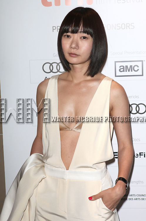 Doona Bae attending the The 2012 Toronto International Film Festival.Red Carpet Arrivals for  'Cloud Atlas' at the Princess of Wales Theatre in Toronto on 9/8/2012