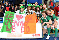 Ireland's Jenny Murphy and Alison Miller has a picture with her fans <br /> <br /> Photographer Ian Cook/CameraSport<br /> <br /> Women's Six Nations Round 4 - Wales Women v Ireland Women - Saturday 11th March 2017 - Cardiff Arms Park - Cardiff<br /> <br /> World Copyright &copy; 2017 CameraSport. All rights reserved. 43 Linden Ave. Countesthorpe. Leicester. England. LE8 5PG - Tel: +44 (0) 116 277 4147 - admin@camerasport.com - www.camerasport.com