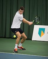 Rotterdam, Netherlands, Januari 28, 2017, ABNAMROWTT, Clubkampioenen, Bart vd Berg <br /> Photo: Tennisimages/Henk Koster