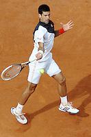 Novak Djokovic.<br /> Roma 18-05-2014 Foro Italico, finale del singolare maschile degli  Internazionali d'Italia di Tennis. Foto Antonietta Baldassarre / Insidefoto