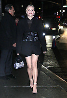 Diane Kruger at The Late Show With Stephen Colbert