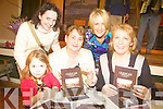 LAUNCH: At the book launch of Glencar My Own Place on Sunday in the Glencar Community Centre from front l-r were: Aisling Magann, author Sheila Crowley and Eileen Magann. Back l-r were: Michelle Doyle, Claire Savage,