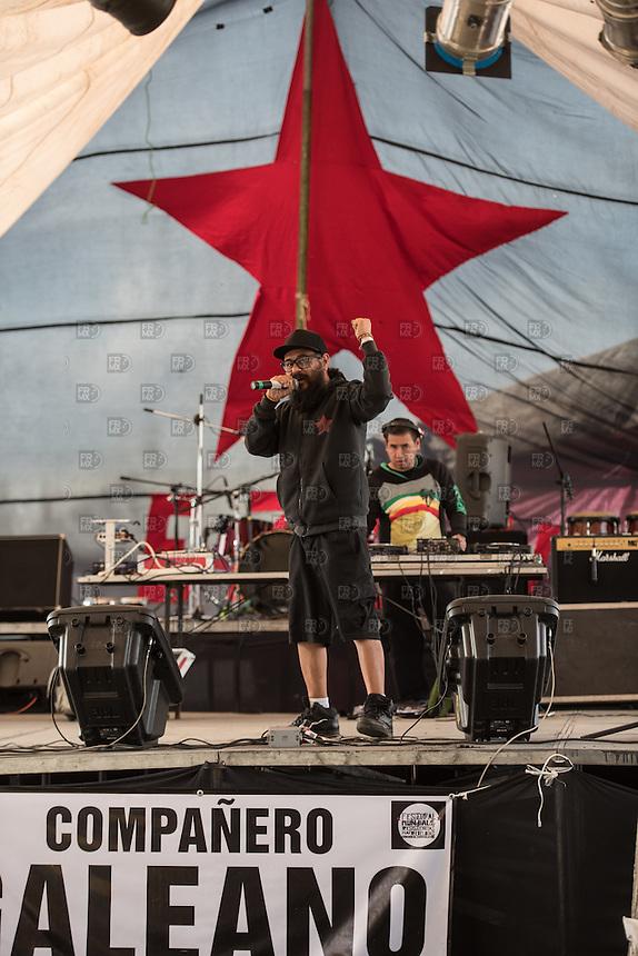 CIUDAD DE MEXICO, D.F. 26 de diciembre.- ültimo día del Festival mundial de las resistencias y las rebeldías del EZLN en el Lienzo Charro de la Ciudad de México, el 26 de diciembre de 2014.  FOTO: ALEJANDRO MELENDEZ