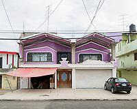 Vernacular architecture in San Pedro Tultepec, Estado De Mexico, Mexico