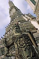 Thaïlande/Bangkok: Temple de Wat Pho ou temple du Bouddha Couché